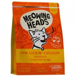 Meowing Heads Paw Licking...
