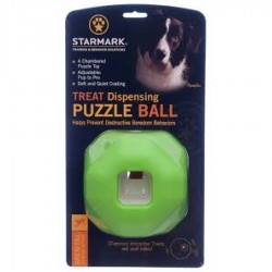 Starmark Puzzle Ball Treat...